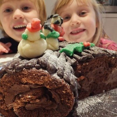 Best gluten-free yule log