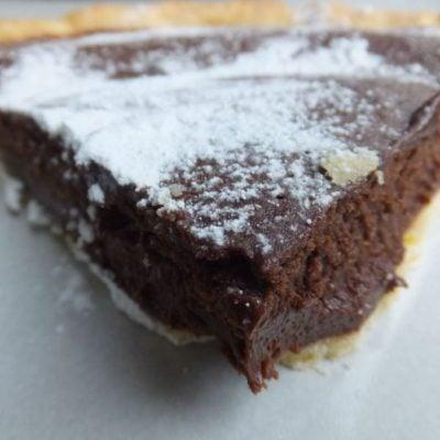 Gluten-free, Dairy-free Chocolate Tart