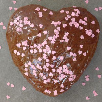 Heart Shape Cake (Gluten Free)