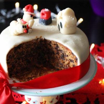 Gluten Free Christmas Cake (Dairy Free)