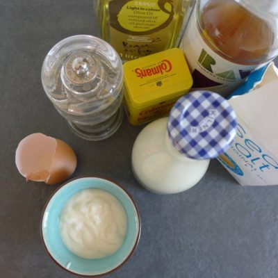 Quick Homemade Mayonnaise Recipe & Video
