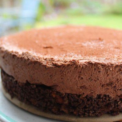 No Bake Chocolate Cheesecake (Gluten Free)
