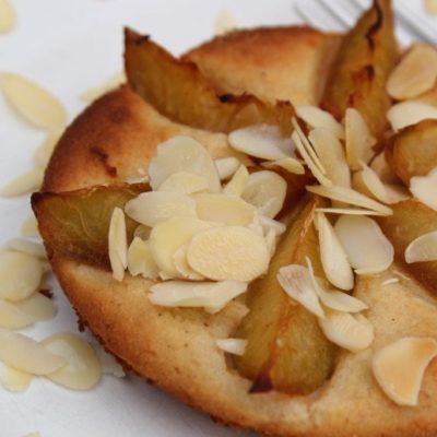 Plum Frangipane Pudding – Grain-free, Dairy-free, Egg-free, Refined Sugar-free