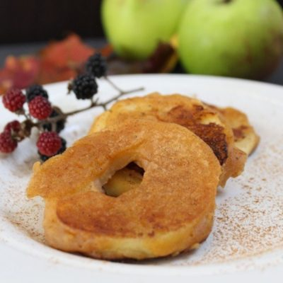 Apple Fritter Recipe – Gluten-free, Dairy-free, Refined Sugar-free