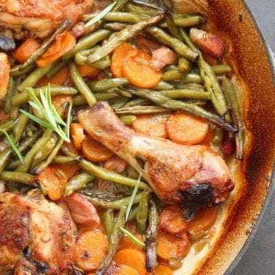 Oven Baked Chicken & Bacon Casserole