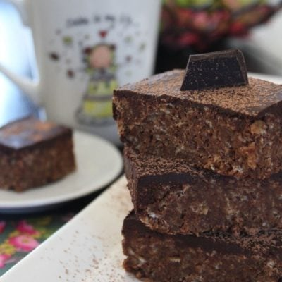 Chocolate Flapjack Recipe, Free From Refined Sugar