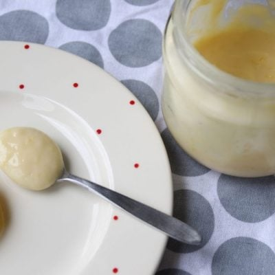 Revamped Refined Sugar-free, Dairy-free Lemon Curd Recipe