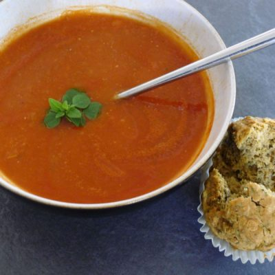 Simple Store Cupboard Tomato Soup