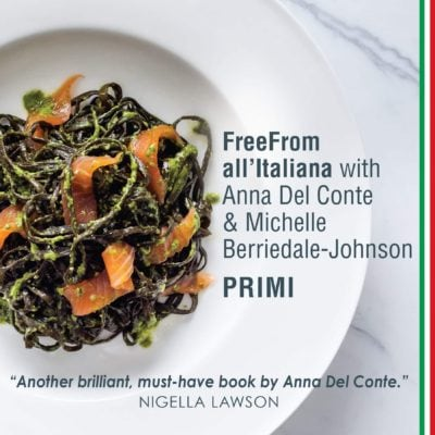 FreeFrom all'Italiana, Courgette Soup & The Free From Food Awards