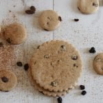 Healthy Easter biscuits made with the Free From Fairy's wholegrain gluten free flour. Gluten-free, dairy-free, egg-free, nut-free, refined sugar-free