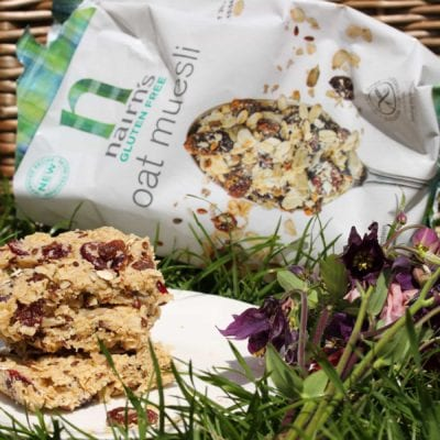Refined Sugar-Free, Gluten-Free & Vegan Flapjacks With Nairn's