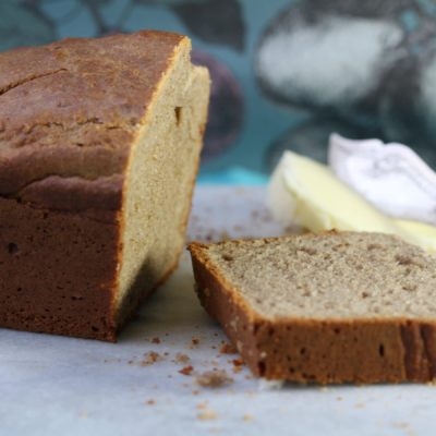 Simple Gluten Free Dairy Free Banana Bread (With No Sugar)