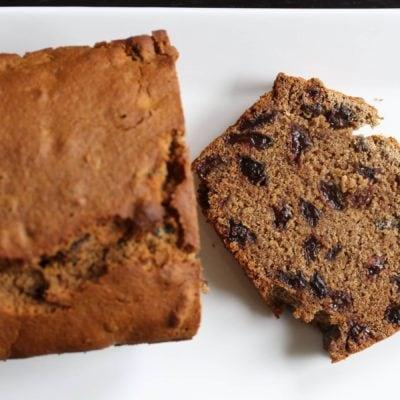 Gluten Free Fruit Loaf – Barmbrack (Vegan)