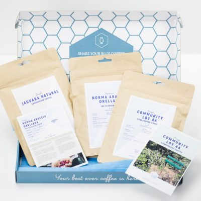 Introducing Blue Coffee Box & A Giveaway