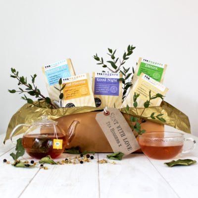 Introducing: Tea Huggers & A Herbal Tea Give Away