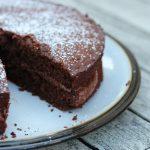 Gluten free vegan chocolate cake made with natural ingredients...no margarine or refined sugar #glutenfree #wholegrain #dairyfree #eggfree #vegan #veganchocolatecake #chocolatecake #glutenfreechocolatecake #freefromfairy