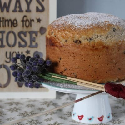 Traditional Gluten Free Panettone & Imperfection